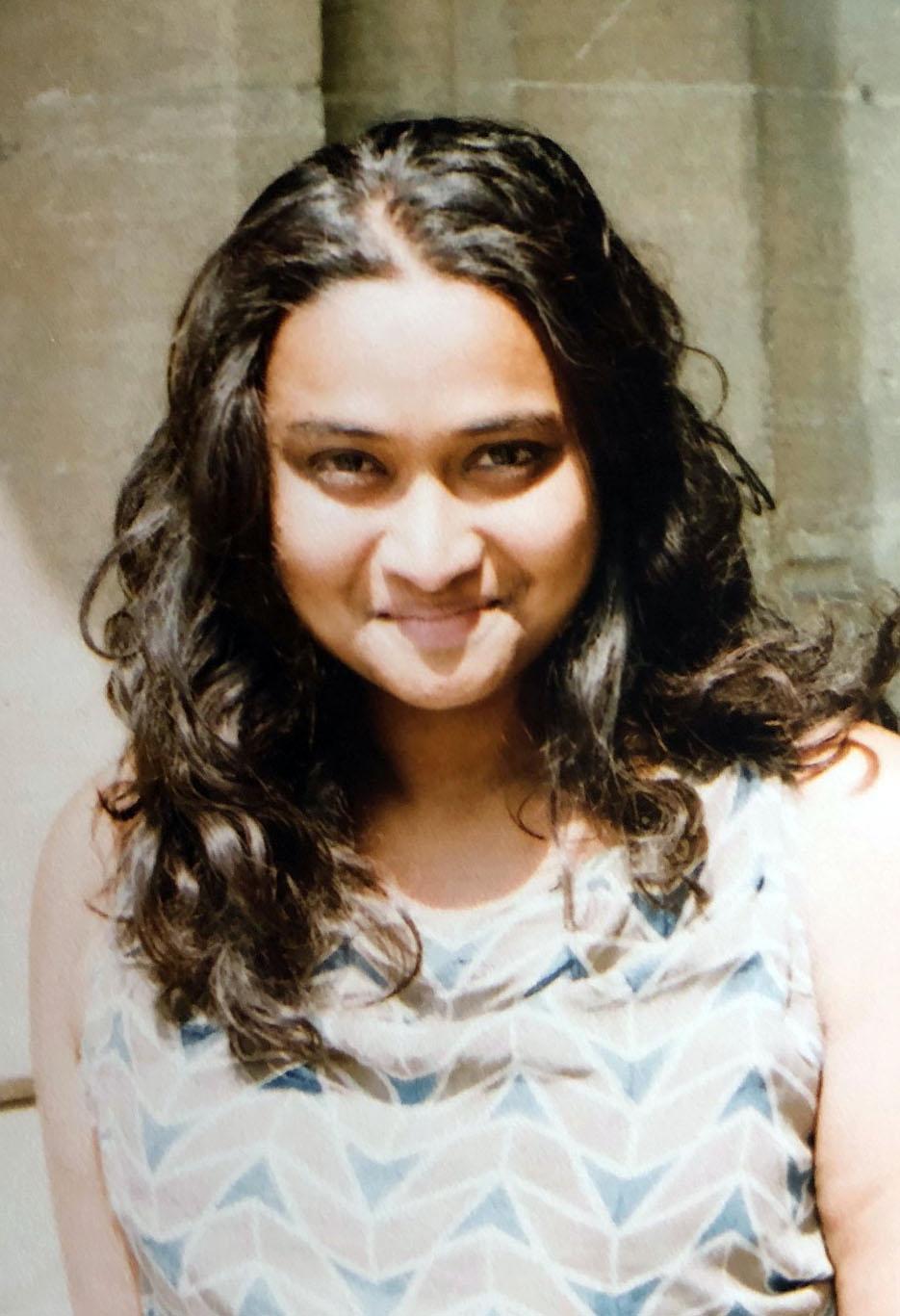 Dr Sneha Krishnan - Brasenose College, Oxford