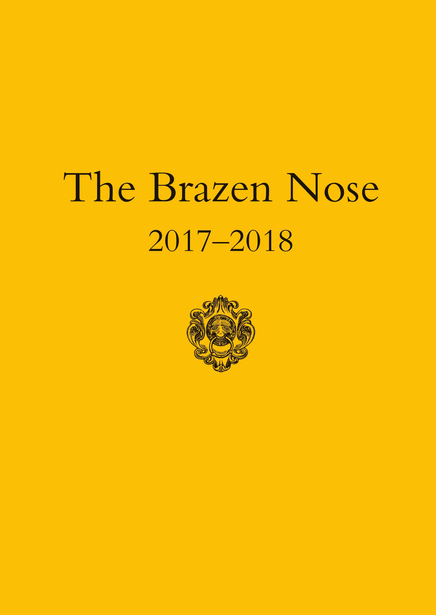 9d7074e01c0d The Brazen Nose