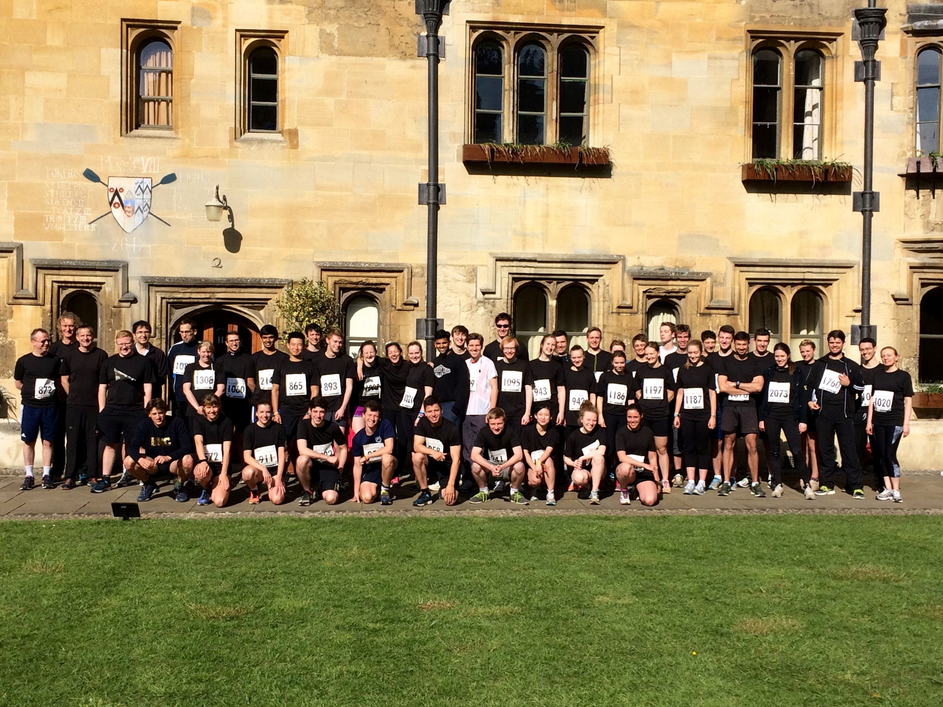 Brasenose runs the Town & Gown 10K 2016 - Brasenose College, Oxford